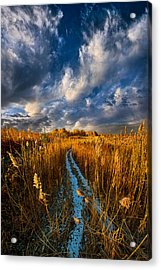 The Secret Path Acrylic Print