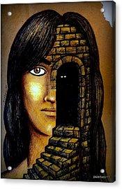 The Secrets Socially Accepted Acrylic Print