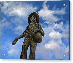 The Seed Sower Acrylic Print by Linda Dunbar