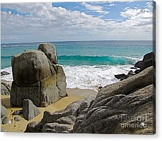 The Sentinel -- Baja California Sur Acrylic Print by Sean Griffin