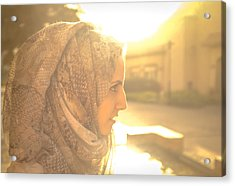 The Serian Face Acrylic Print by Ahmed Rashed