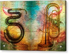 The Serpent And Euphonium -  Featured In Spectacular Artworks Acrylic Print