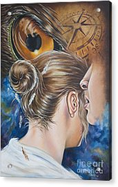 The Seven Spirits Series - The Spirit Of Counsel Acrylic Print by Ilse Kleyn