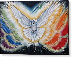 The Seven Spirits Series - The Spirit Of The Lord Acrylic Print by Ilse Kleyn