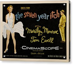 The Seven Year Itch Acrylic Print by Georgia Fowler