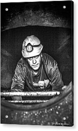 Acrylic Print featuring the photograph The Sewer Guy by Stwayne Keubrick