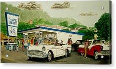 The Shake Shoppe Portsmouth Ohio 1960 Acrylic Print