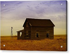The Shambles Of Dreams Gone By Acrylic Print by Jeff Swan