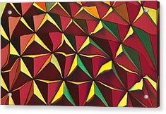 Shapes Of Color Acrylic Print
