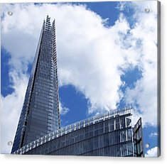The Shard And The Place - London Acrylic Print by Rona Black