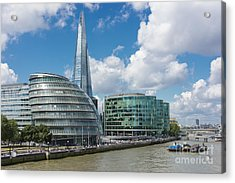 The Shard London Acrylic Print by Donald Davis