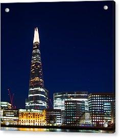 The Shard London Acrylic Print by Wayne Molyneux