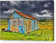 The Shed Acrylic Print by Lynne Sutherland