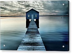 The Shed Upon The Water Acrylic Print