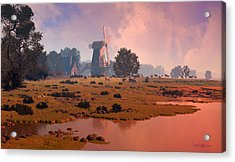 The Shepherd's Mill Acrylic Print