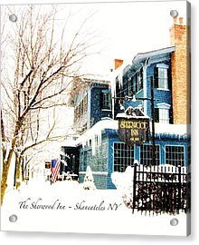 Acrylic Print featuring the photograph The Sherwood Inn by Margie Amberge