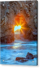 The Shining Star Acrylic Print