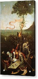 The Ship Of Fools Acrylic Print by Hieronymus Bosch