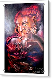 The Sick Child Acrylic Print