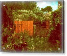 The Side Yard Acrylic Print by YoMamaBird Rhonda