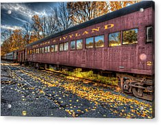 The Siding Acrylic Print