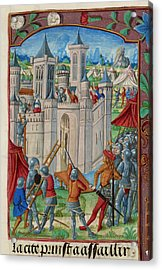 The Siege Of Acre Acrylic Print