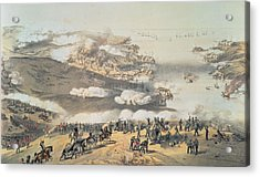 The Siege Of Sevastopol Acrylic Print by Vincent Brooks