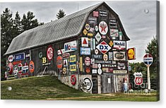 The Sign Barn Acrylic Print