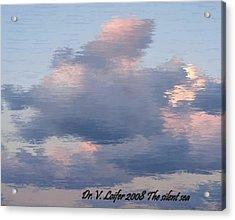 The Silent Sea Acrylic Print by Dr Loifer Vladimir