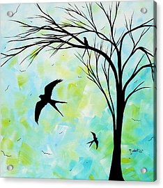 The Simple Life By Madart Acrylic Print by Megan Duncanson