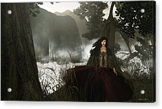 The Siren's Isle Acrylic Print