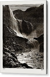 The Skjaeggedalsfos, Hardanger, Norway Acrylic Print by Litz Collection