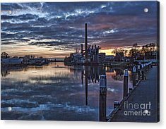 The Sky Is Crying Acrylic Print