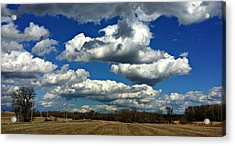 The Sky Is The Limit Acrylic Print by Joel Rams