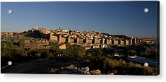 Acrylic Print featuring the photograph The Skyline Of Avila Spain by Farol Tomson