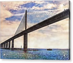 The Skyway Acrylic Print by Hanny Heim