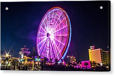 The Skywheel Acrylic Print by Rob Sellers