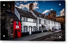 The Smallest House  Acrylic Print by Adrian Evans