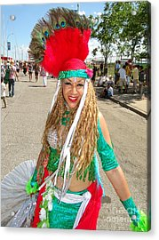 Acrylic Print featuring the photograph The Smile by Ed Weidman