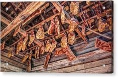 The Smokehouse Acrylic Print by Rob Sellers