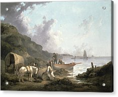 The Smugglers, 1792 Acrylic Print by George Morland