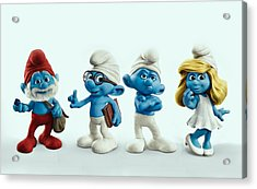 The Smurfs Movie Acrylic Print