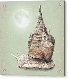 The Snail's Dream Acrylic Print