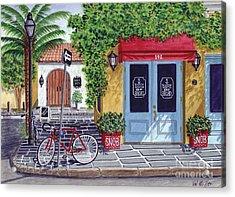 The Snob Restaurant Acrylic Print