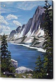 The Snowy Range Acrylic Print