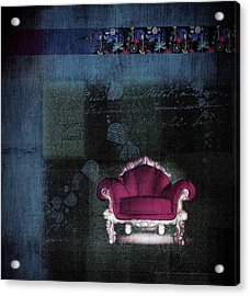 The Sofa Chair - S03ha Acrylic Print by Variance Collections