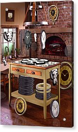 The Soft Clock Shop 2 Acrylic Print by Mike McGlothlen