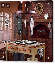 The Soft Clock Shop 3 Acrylic Print by Mike McGlothlen