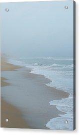 The Soft Sea Acrylic Print by Joseph Smith