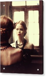 The Soft Touch Of Decadency Acrylic Print